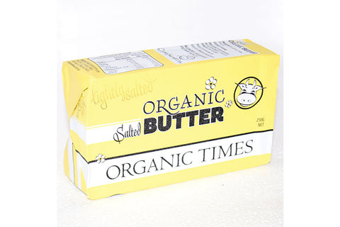Salted Butter 250g - Organic Times