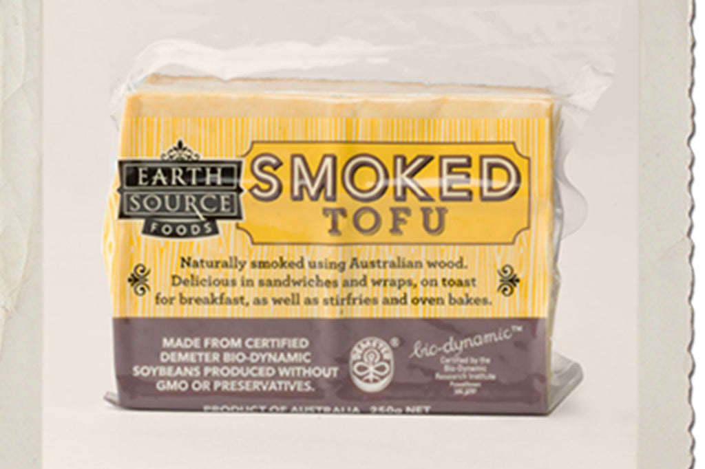 Biodynamic Smoked Tofu 250g - Earth Source
