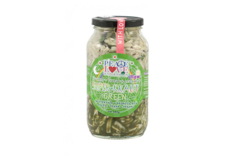 Green Superkraut 680g - Peace, Love & Vegetables