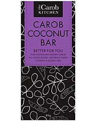 Carob Coconut Bar - The Carob Kitchen