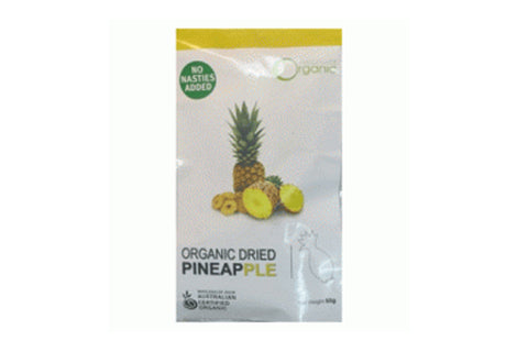 Dried Pineapple 100g - Absolute Organic