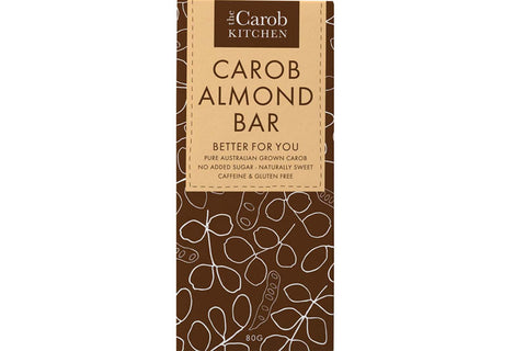 Carob Almond Bar - The Carob Kitchen
