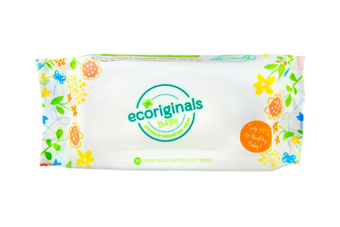 70 Baby Wipes - Ecoriginals