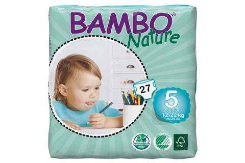 Nappies Junior 12-22kg - Bambo