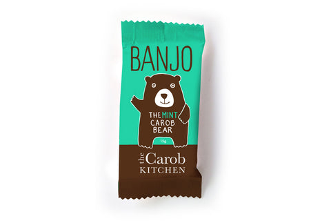 Banjo Mint Carob Bear - The Carob Kitchen
