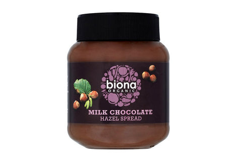 Milk Chocolate Hazelnut Spread - Biona