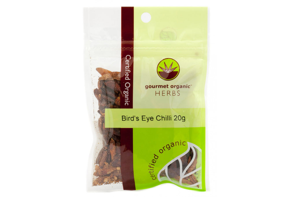 Bird's Eye Chilli 20g - Gourmet Organic Herbs