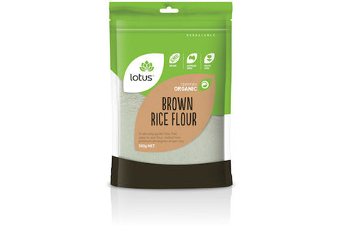 Organic Brown Rice Flour 500g - Lotus