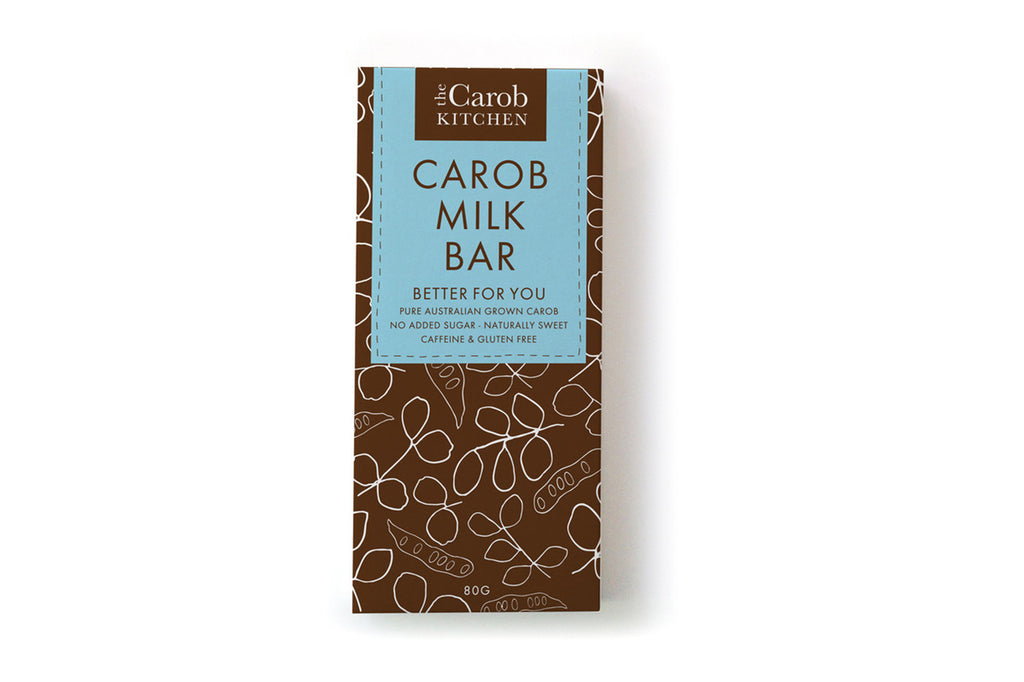 Carob Milk Bar 80g - The Carob Kitchen