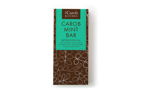 Carob Mint Bar 80g - The Carob Kitchen