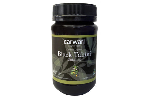 Organic Black Tahini (Unhulled) - Carwari