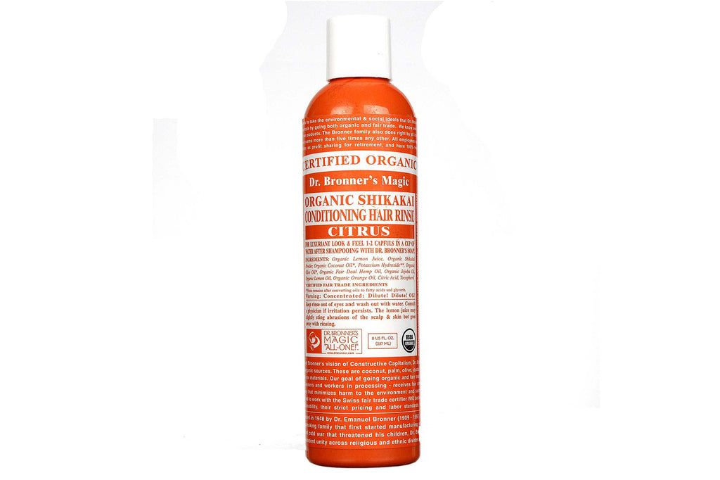 Citrus Conditioning Hair Rinse - Dr Bronners
