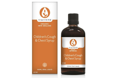 Children's Cough and Chest Syrup 100ml - Kiwiherb