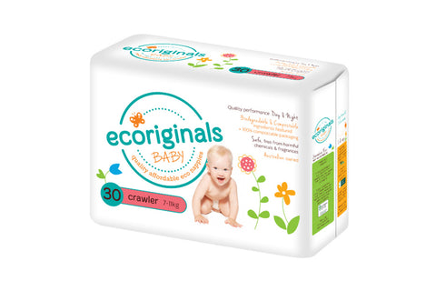 Nappies Crawler 7-13kg - Ecoriginals