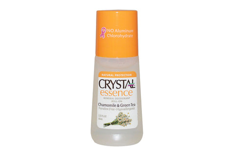 Chamomile & Green Tea Deodorant - Crystal Essence