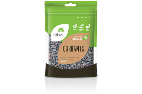 Organic Currants 100g - Lotus