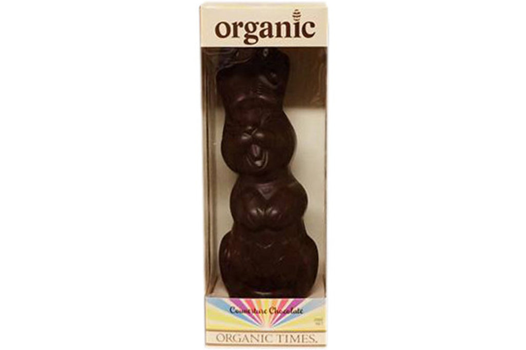Dark Chocolate Easter Bunny 200g - Organic Times