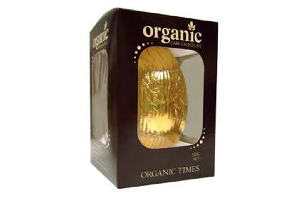 Dark Chocolate Easter Egg 130g - Organic Times