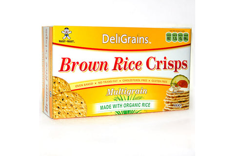 Brown Rice Crisps Multigrain - Deligrains
