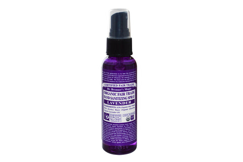 Lavender Sanitizing Spray - Dr Bronners