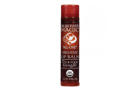 Orange Ginger Lip Balm - Dr Bronners