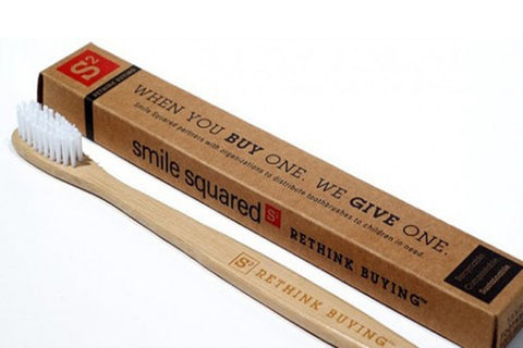 Child Bamboo Toothbrush - Environmental Toothbrush
