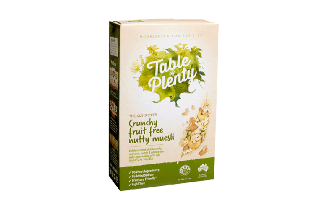 Nicely Nutty Muesli 500g - Table of Plenty