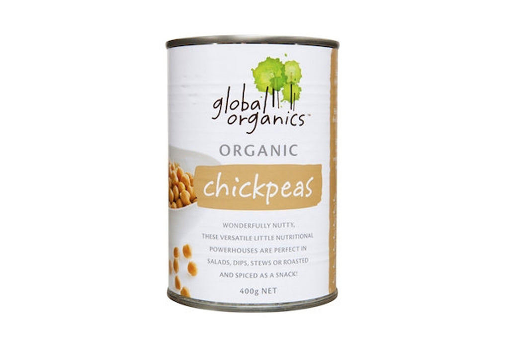 Chickpeas 400g - Global Organics
