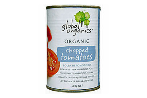 Chopped Tomatoes 400g - Global Organics