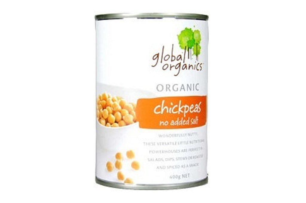 Chickpeas No Added Salt 400g - Global Organics