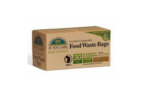 Food Waste Bags 30pk - If You Care