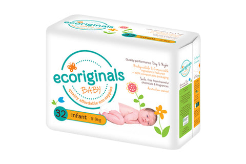 Nappies Infant 5-9kg - Ecoriginals