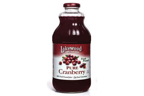 Organic Cranberry Juice 946ml - Lakewood