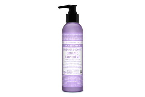 Lavender Coconut Organic Hair Creme - Dr Bronners