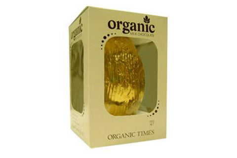 Milk Chocolate Easter Egg 130g - Organic Times