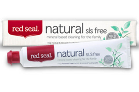 Natural Toothpaste - Red Seal
