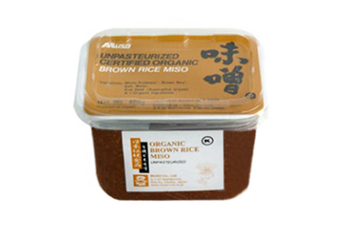 Organic Genmai Brown Rice Miso - Spiral