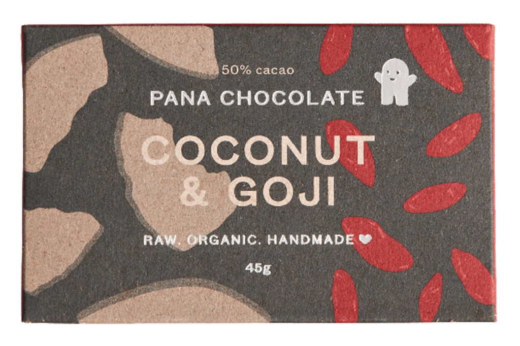 Coconut + Goji Chocolate - Pana