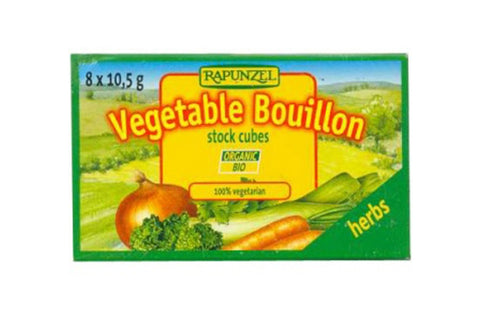 Stock Cubes Vegetable & Herb - Rapunzel