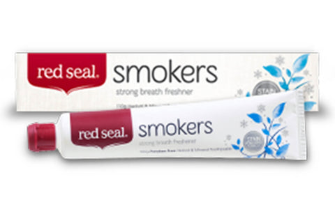 Smokers Toothpaste (Strong Breath Freshener) - Red Seal