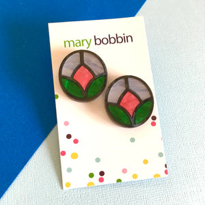 Tulip Statement Studs