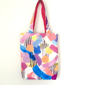 Luscious Brush Strokes Tote Bag
