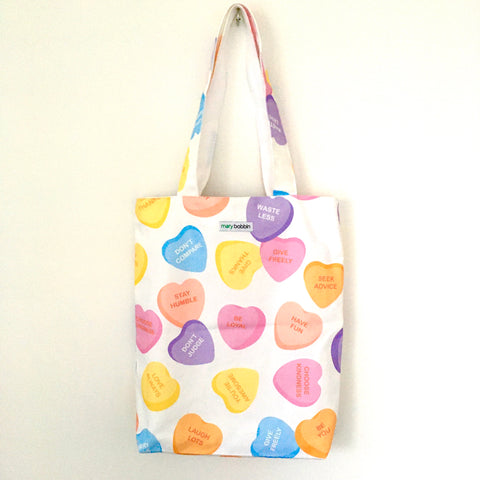 I Heart Candy Tote Bag