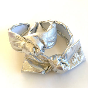 Silver Foil Headband CHOOSE STYLE