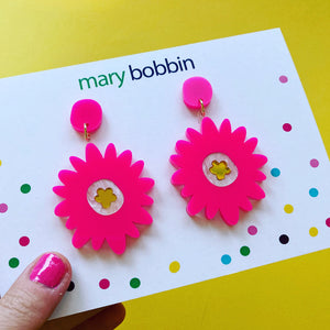 Botanica Dangles - Hot Pink