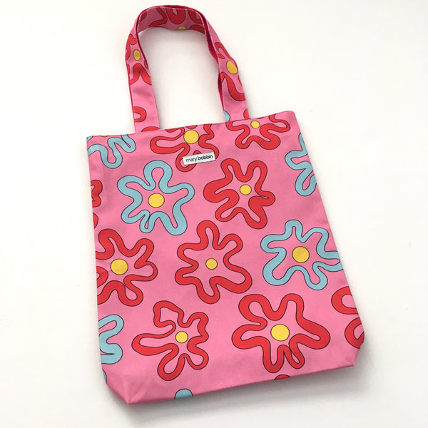 Bloomin Squiggles Tote Bag