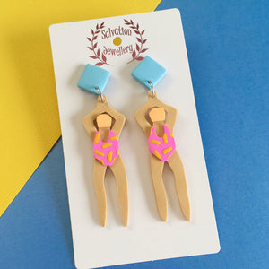 Swimmer Dangles - Salvation Jewellery