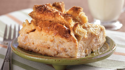 Maple Apple Caramel Bread Pudding