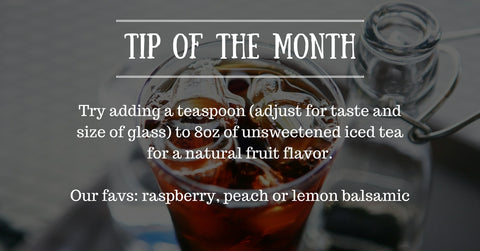 Tip - iced tea