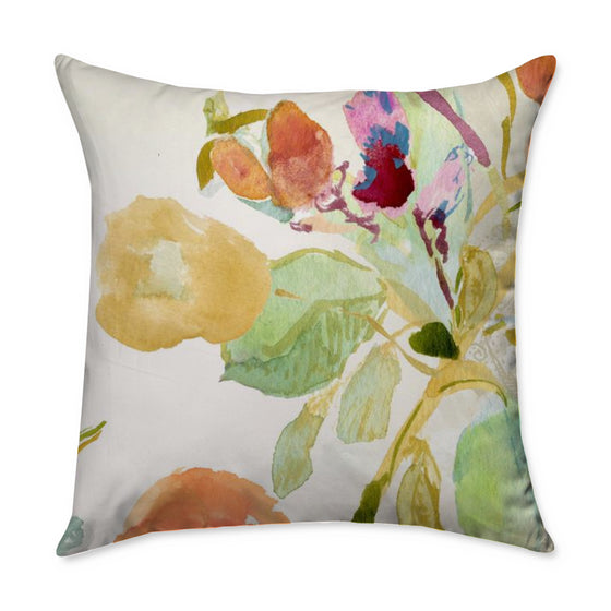 Renée Square Throw Pillow - COVER ONLY
